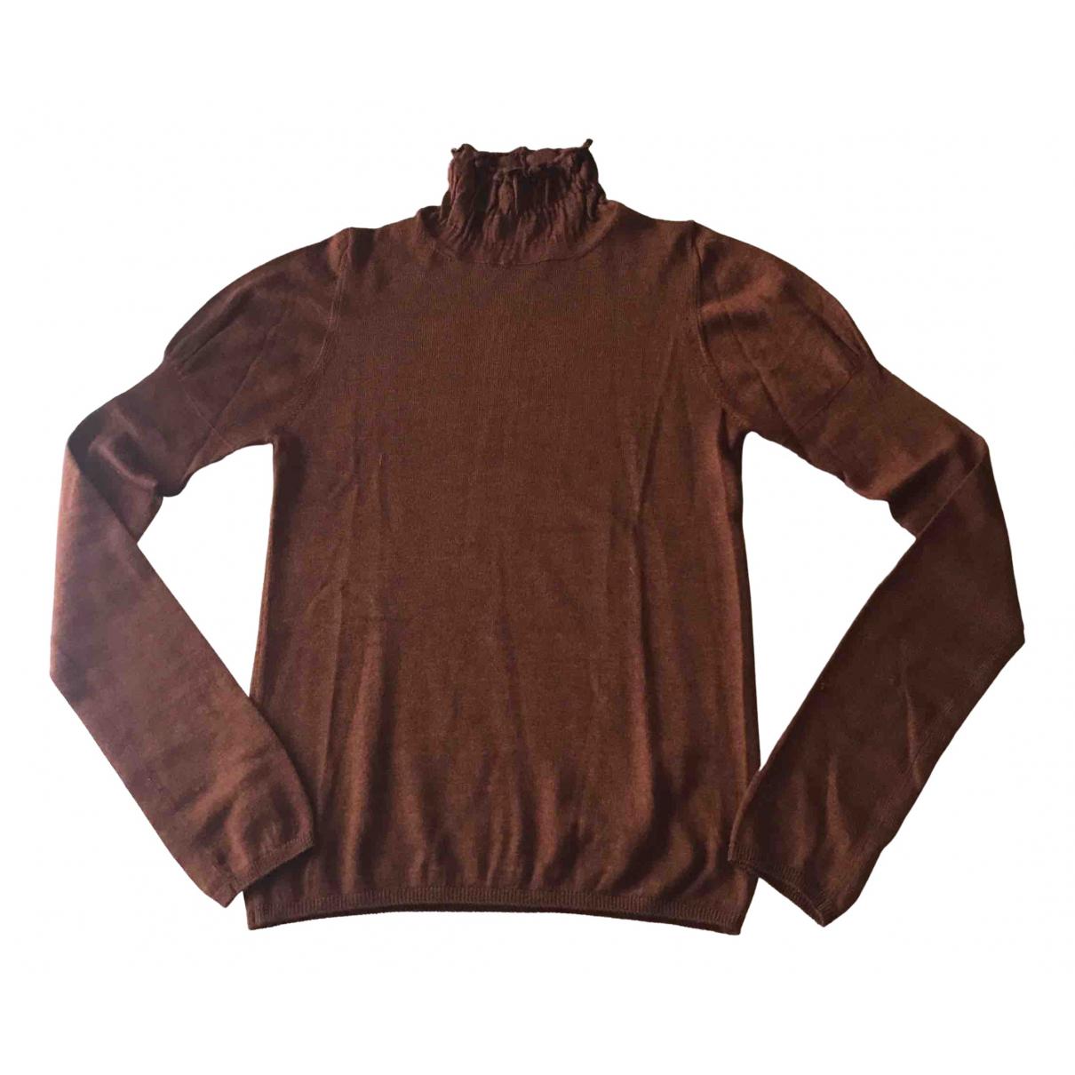 Prada N Brown Cashmere Knitwear for Women 38 IT
