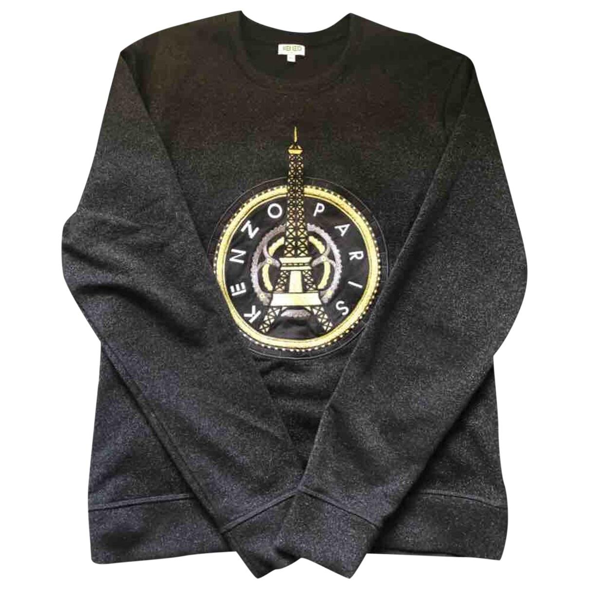 Kenzo \N Pullover.Westen.Sweatshirts  in  Schwarz Baumwolle