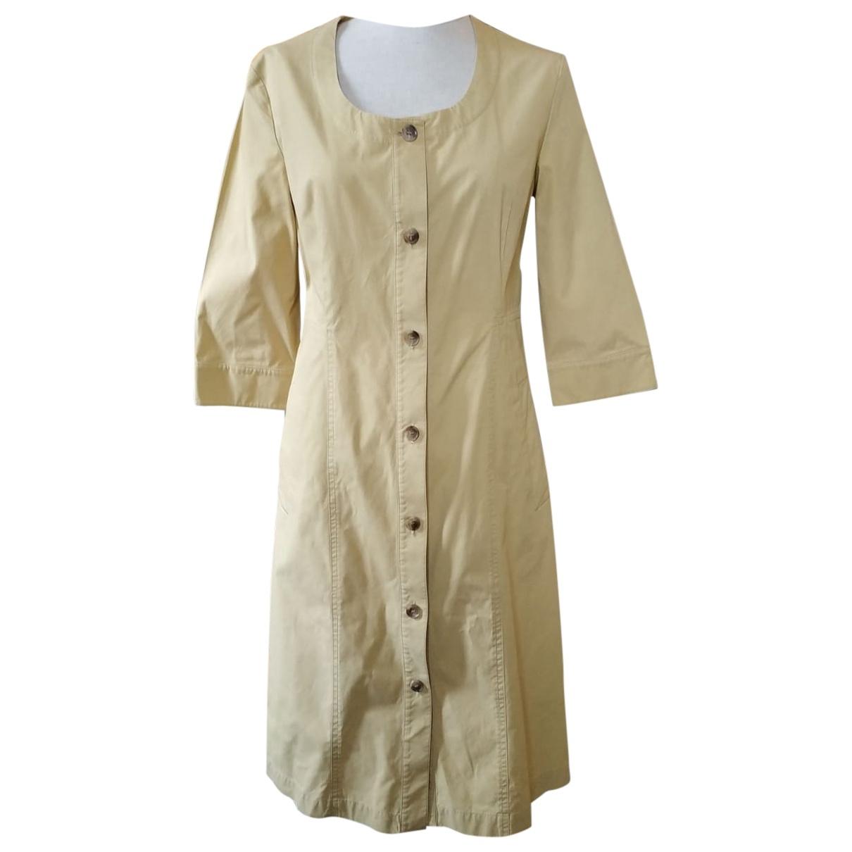 Cos \N Kleid in  Gruen Baumwolle