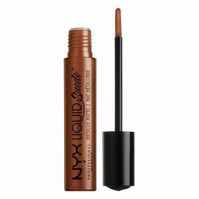 Liquid Suede Metallic Matte Lipstick - New Era