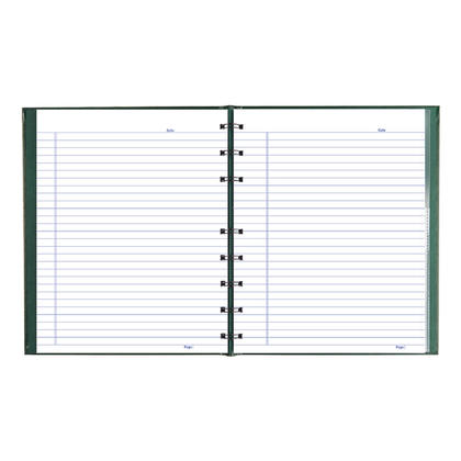 Blueline@ NotePro Notebook 192 microperforated pages - Green