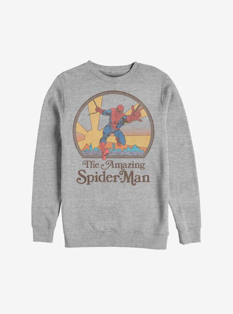 Marvel Spider-Man Seventies Amazing Spider-Man Sweatshirt
