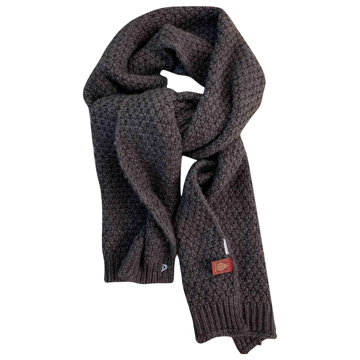 Dondup - Foulard   pour femme en laine - anthracite