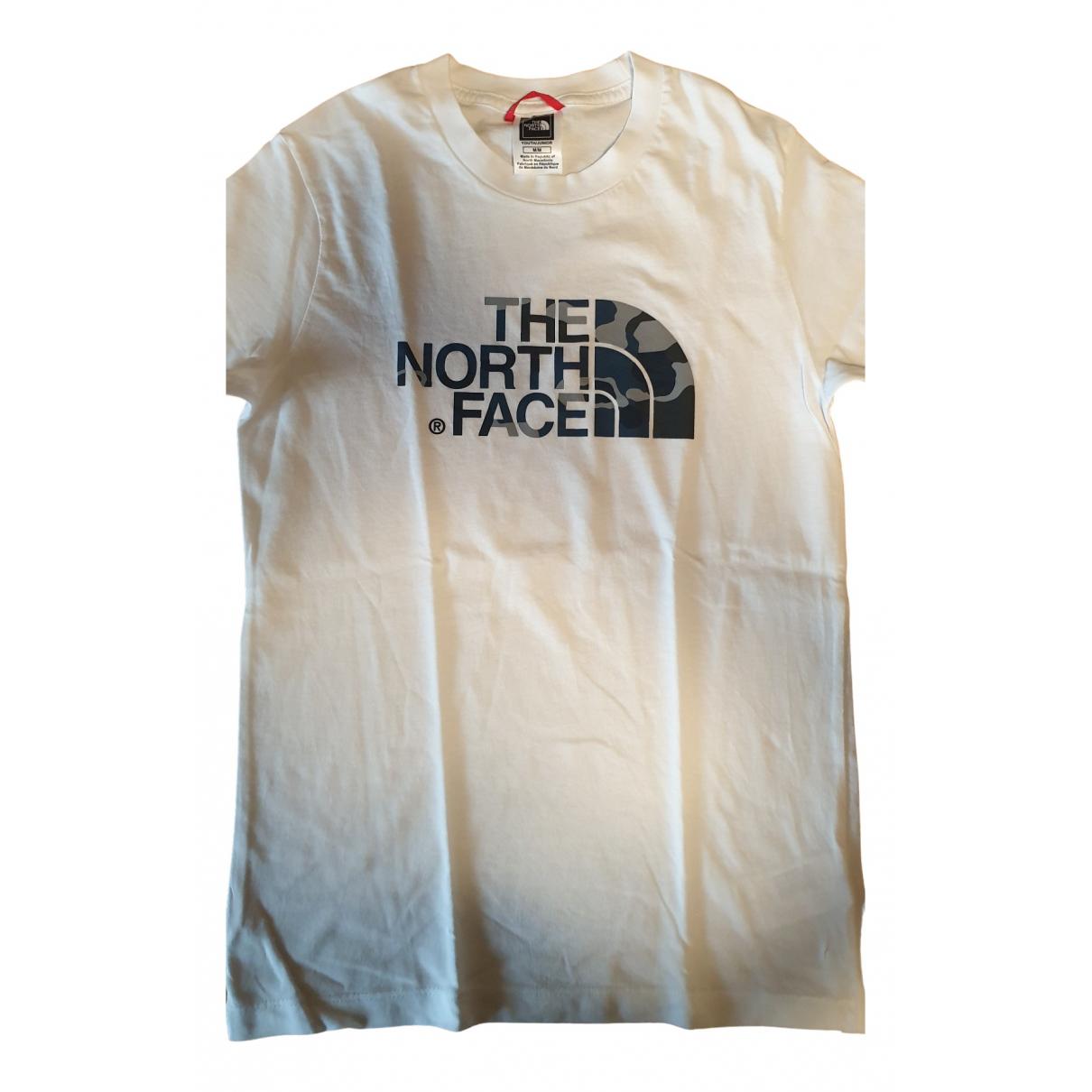 The North Face - Top   pour enfant en coton - blanc