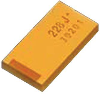 AVX Tantalum Capacitor 150μF 6.3V dc MnO2 Solid ±20% Tolerance , TLN