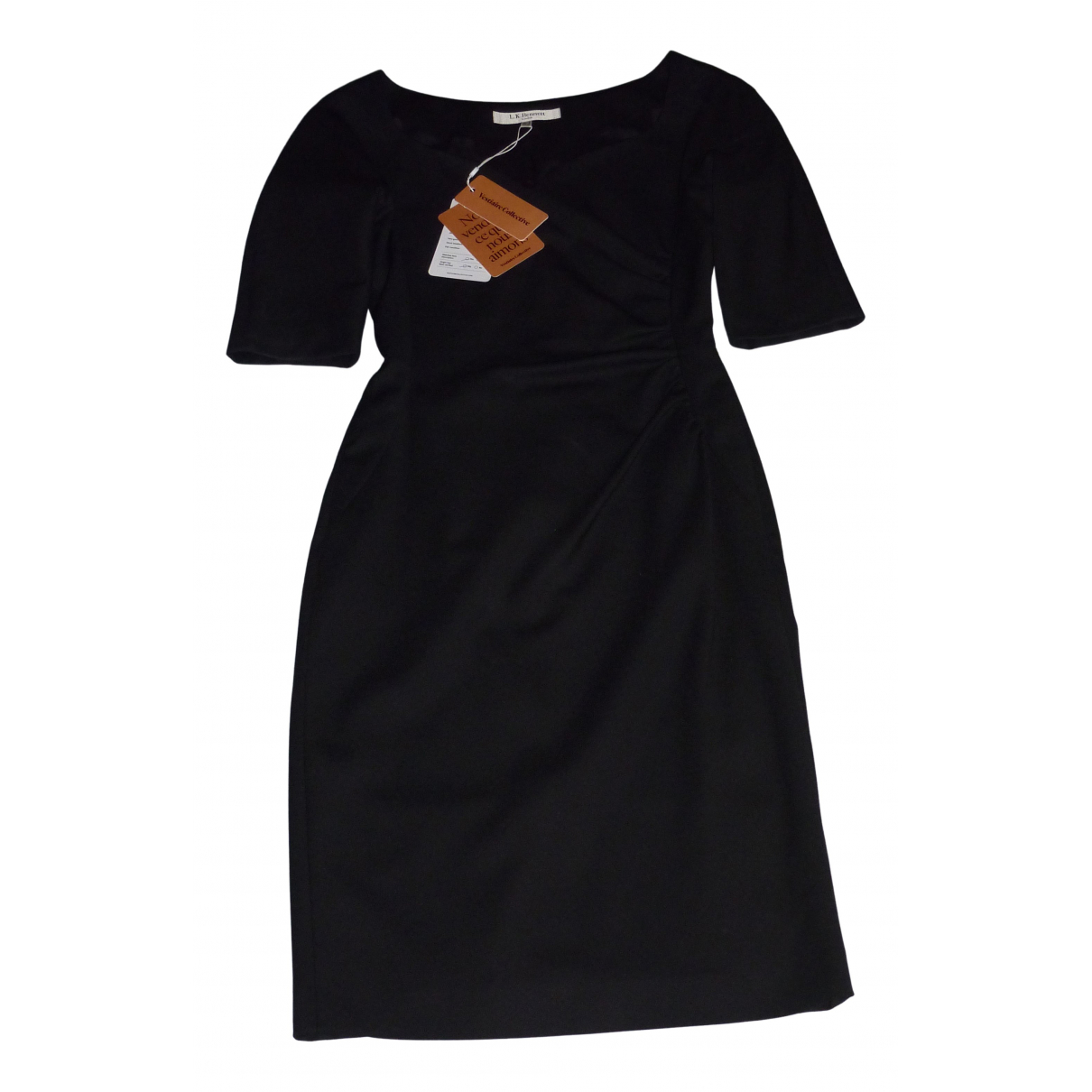 Lk Bennett \N Black Wool dress for Women 6 UK