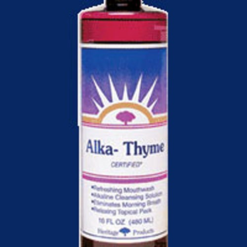 Alka-Thyme Mouthwash 16 Fl Oz by Heritage Products