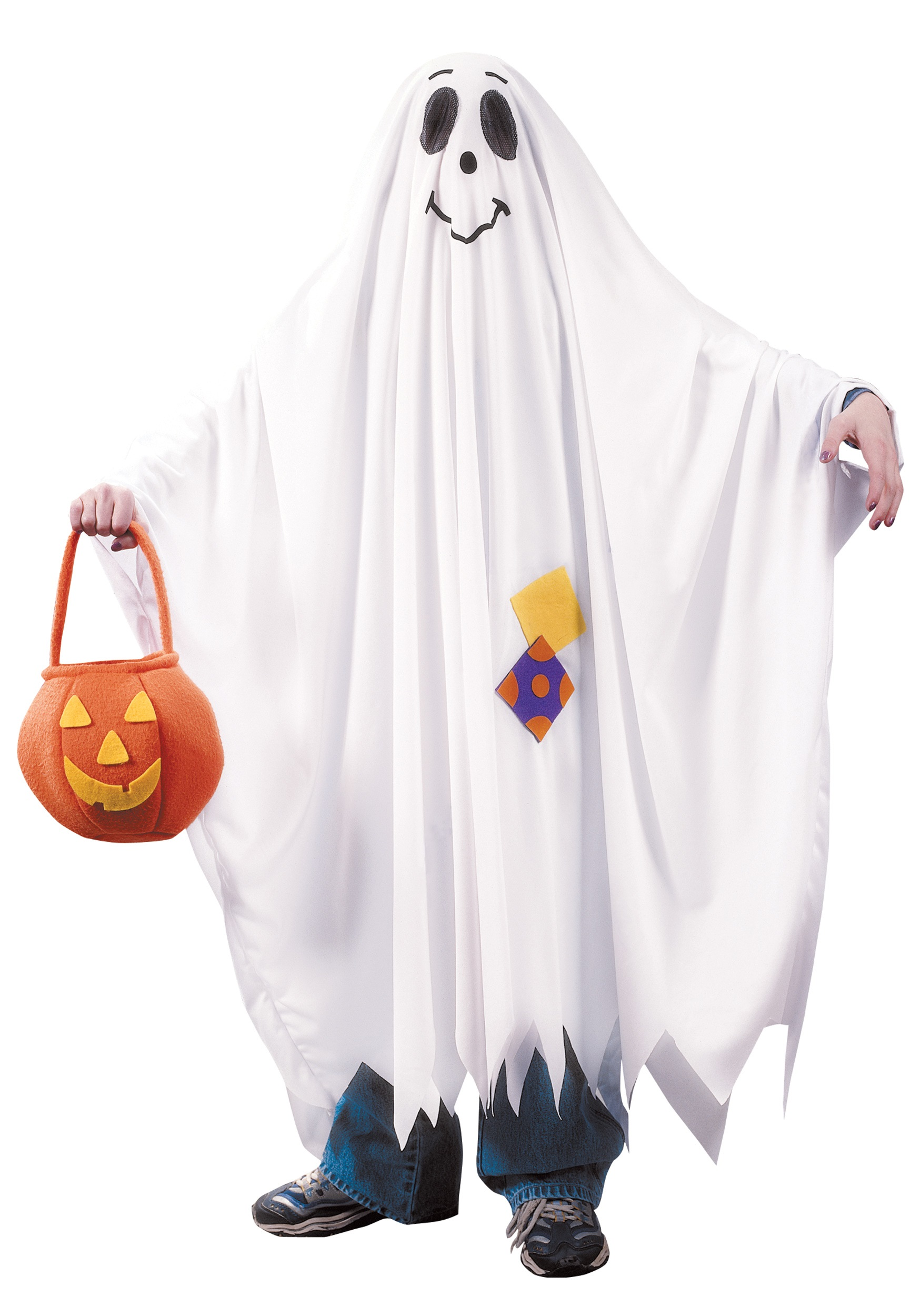 Friendly Ghost Trick or Treat Costume