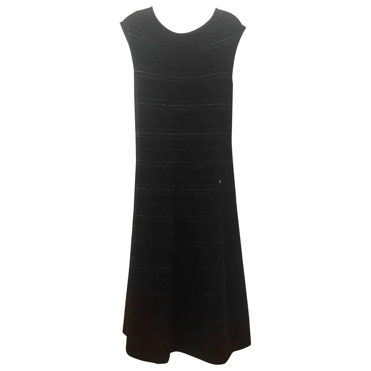 Carolina Herrera \N Kleid in  Schwarz Synthetik