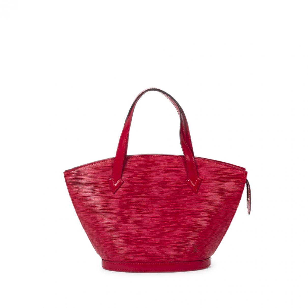 Louis Vuitton Saint Jacques Handtasche in  Rot Leder