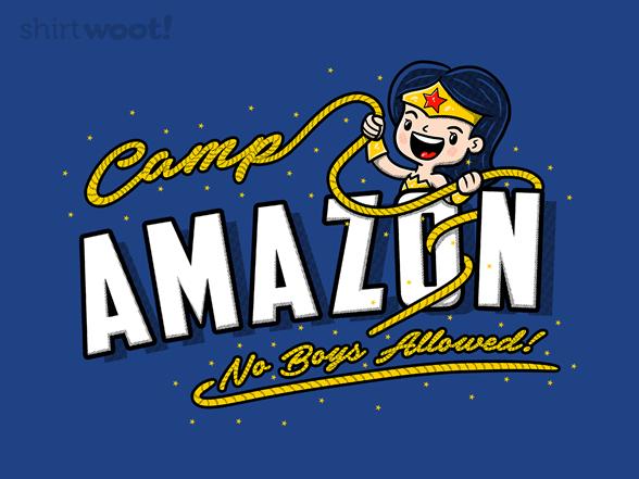 Camp Amazon T Shirt