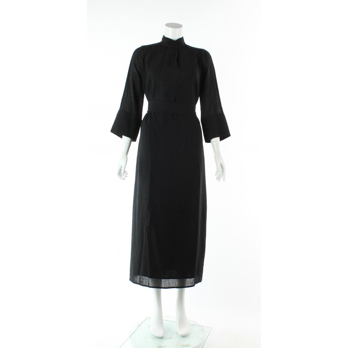 Autre Marque - Robe   pour femme en coton - noir