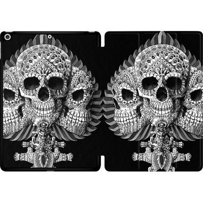 Apple iPad 9.7 (2017) Tablet Smart Case - Skull Spade von BIOWORKZ