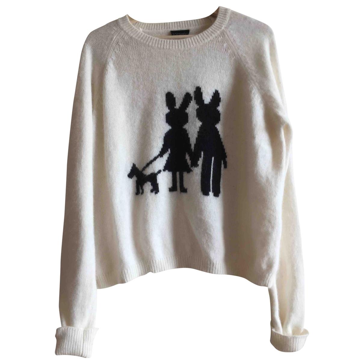 tophop \N White Wool Knitwear for Women 14 UK