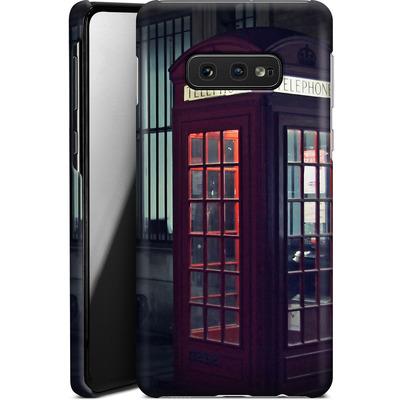 Samsung Galaxy S10e Smartphone Huelle - London Calling 2 von Ronya Galka