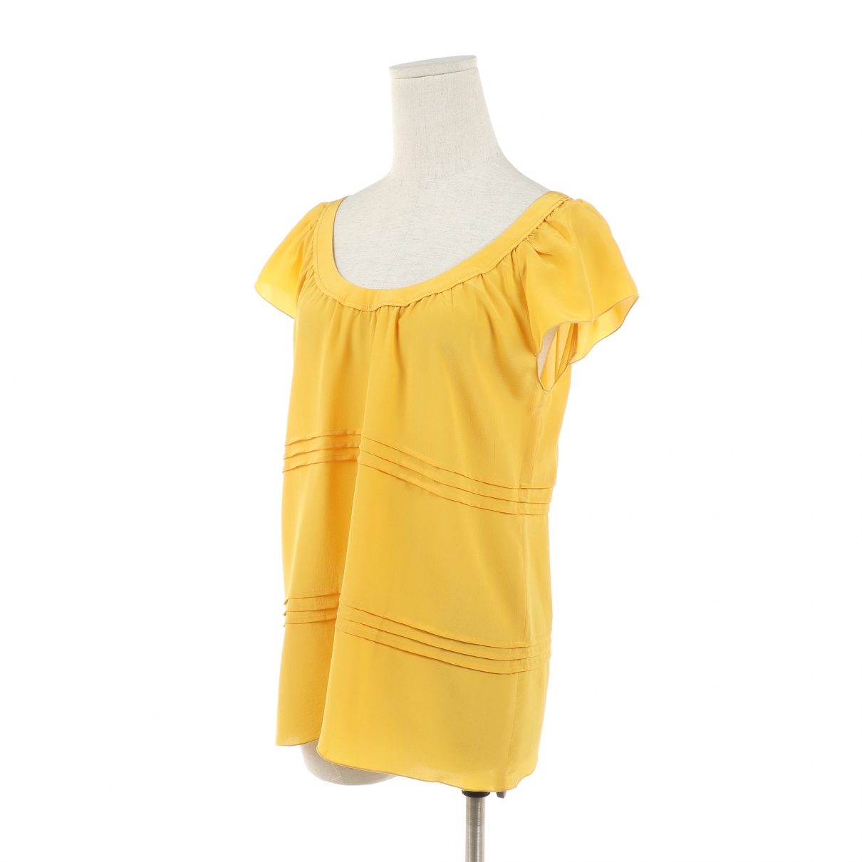 Miu Miu N Yellow Silk  top for Women 40 IT