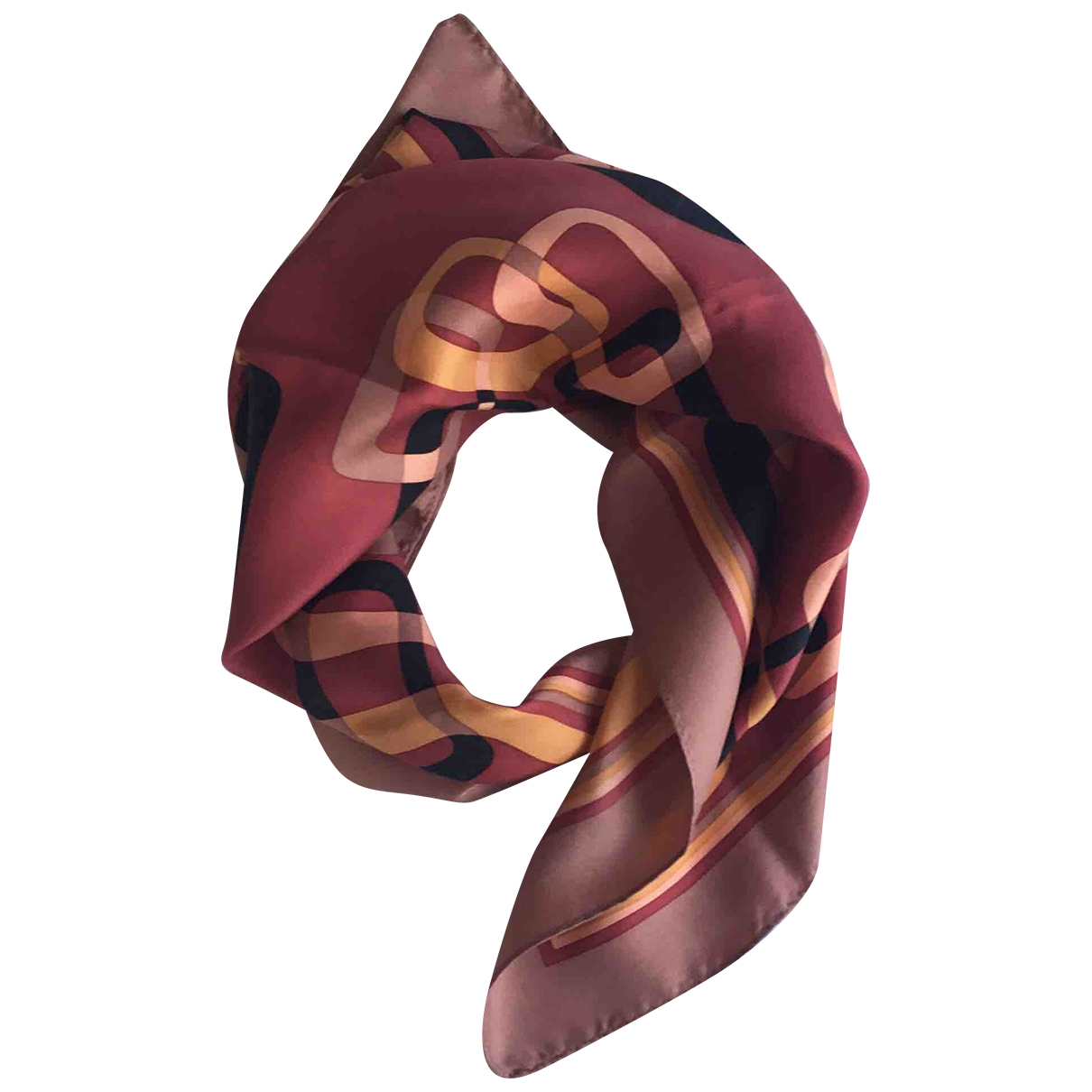Non Signé / Unsigned \N Multicolour Silk handkerchief for Women \N
