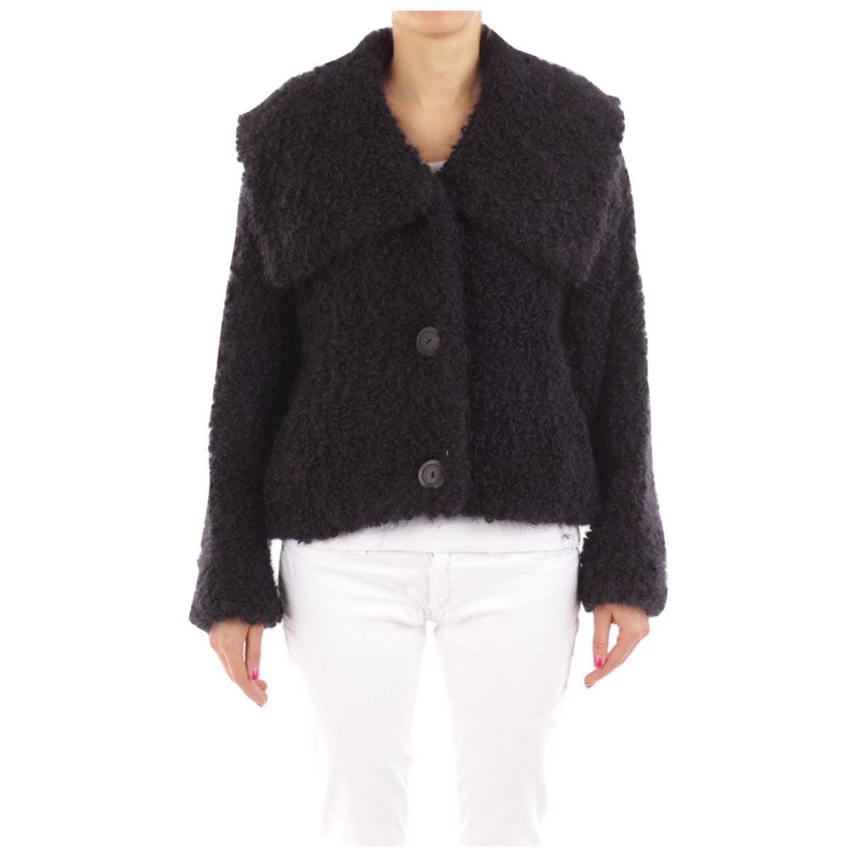 Autre Marque \N Black Cotton jacket for Women 40 FR