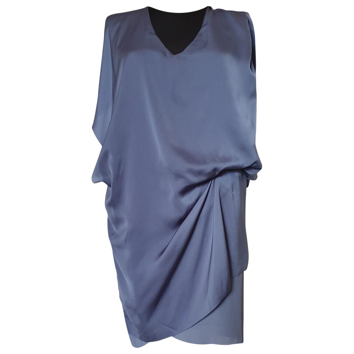 Acne Studios - Robe   pour femme - bleu