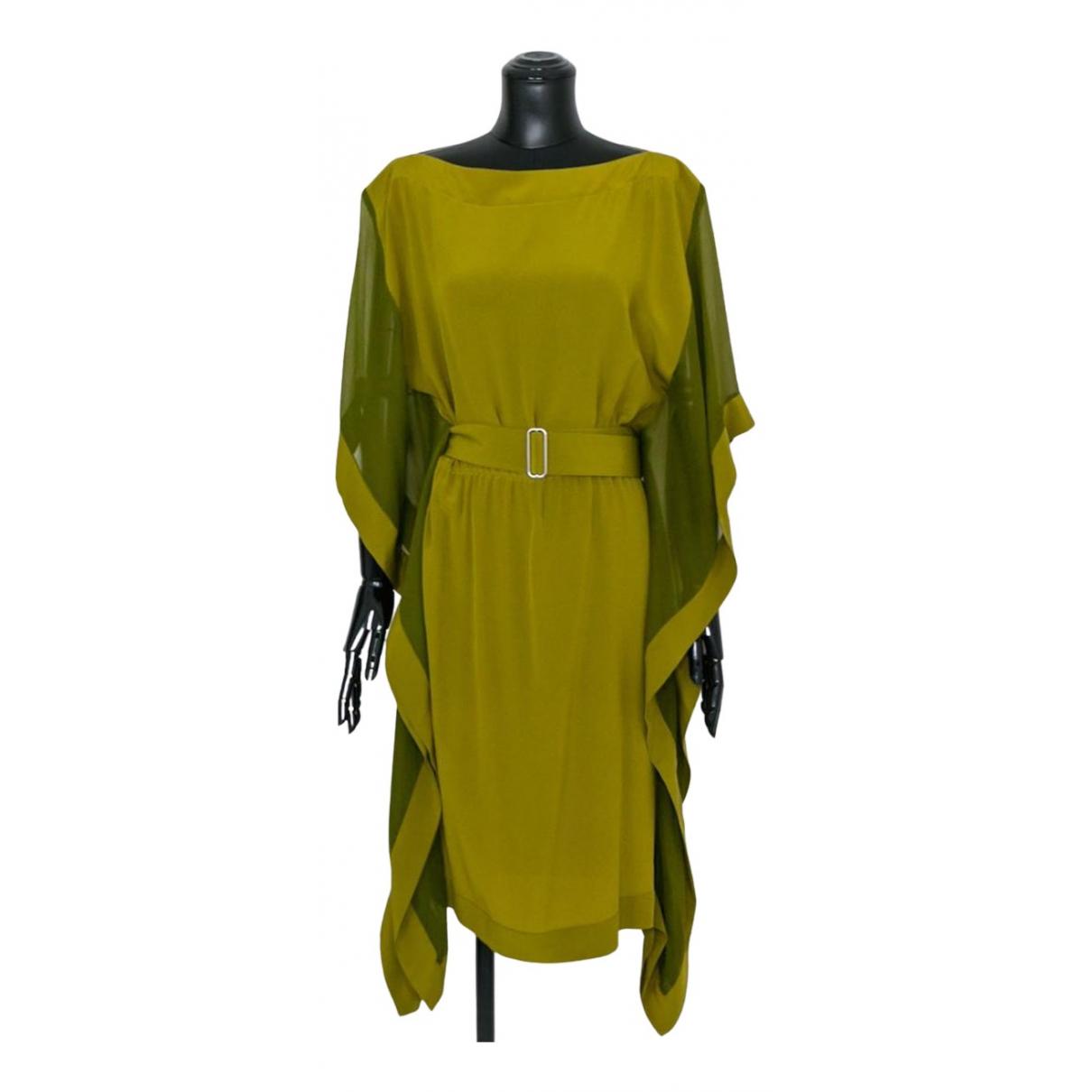 Hermès N Green Silk dress for Women 36 FR