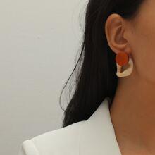 Ohrringe mit rundem Design