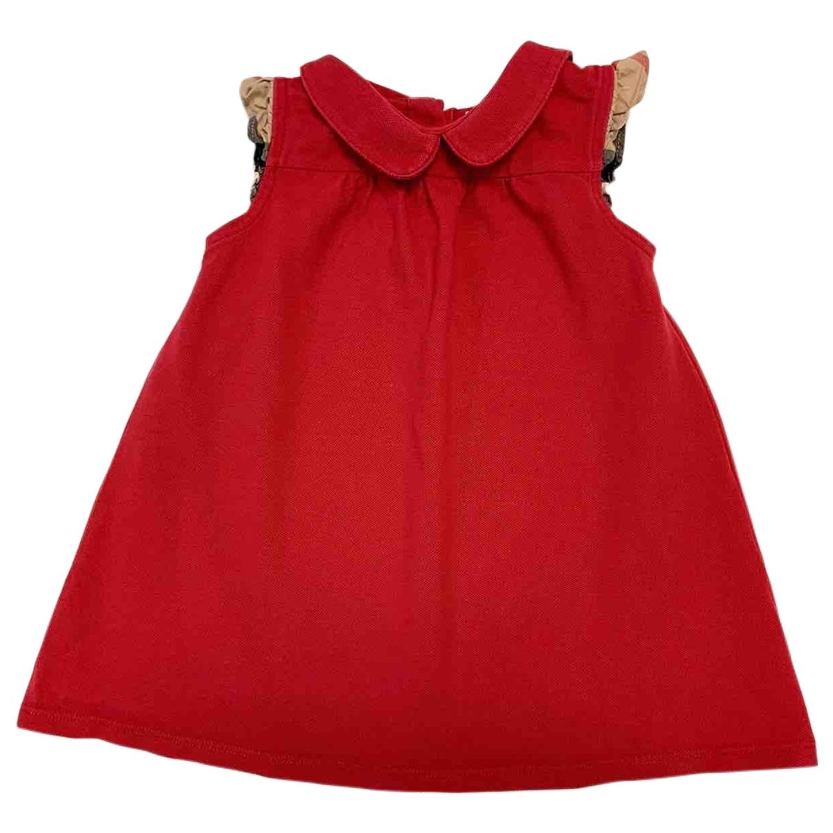 Burberry \N Kleid in Baumwolle