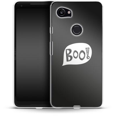 Google Pixel 2 XL Silikon Handyhuelle - BOO! von caseable Designs