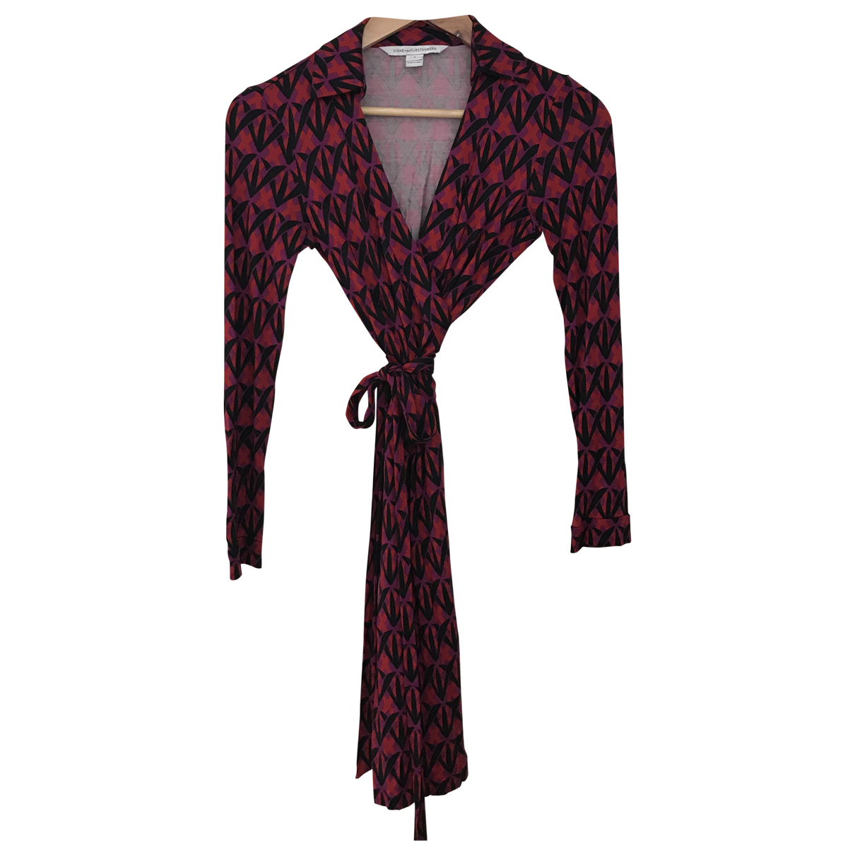 Diane Von Furstenberg N Red Silk dress for Women 0 0-5