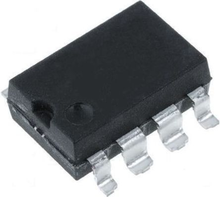 ON Semiconductor , 6N136SDM DC Input Phototransistor Output Optocoupler, Surface Mount, 8-Pin DIP (10)