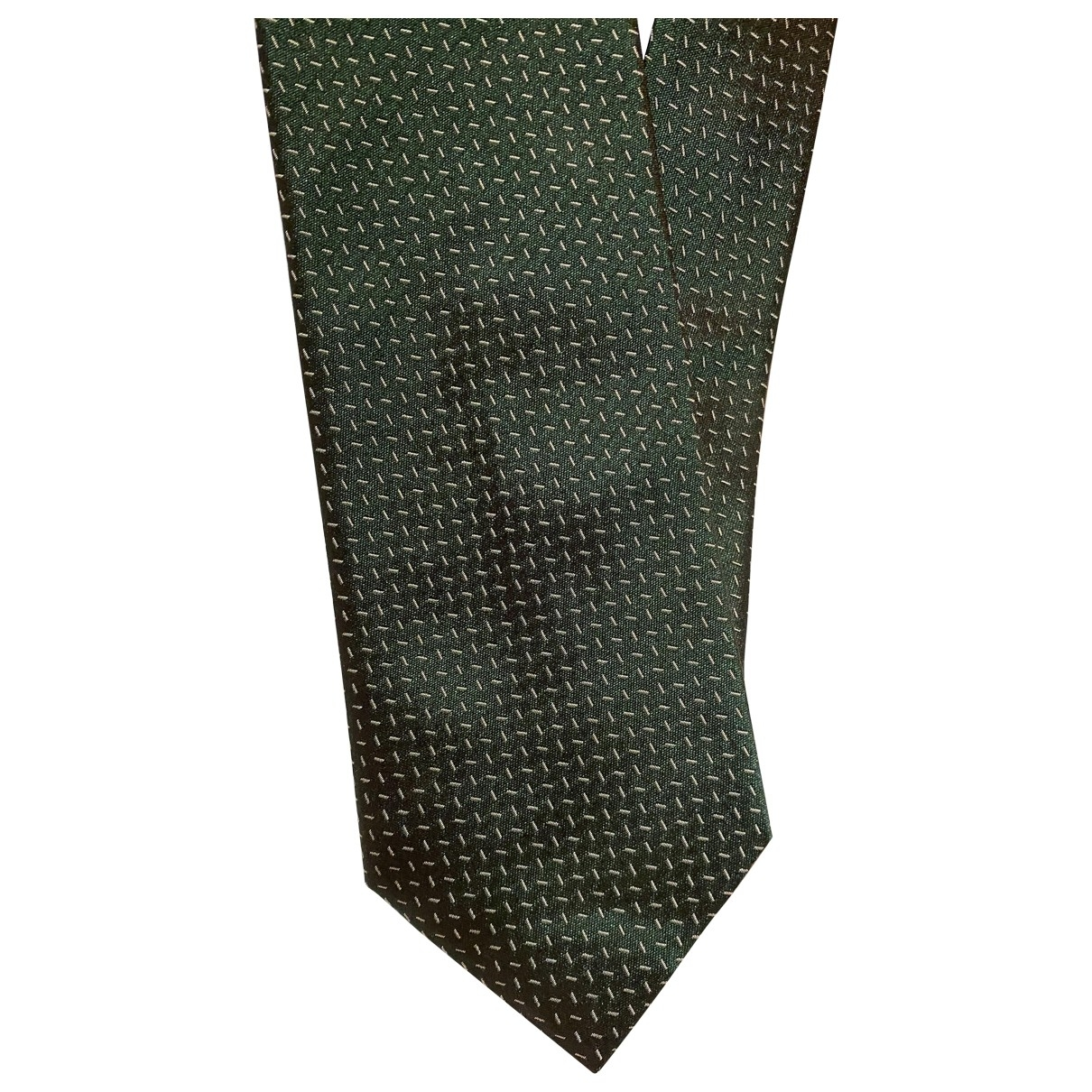 Boggi - Cravates   pour homme en soie - vert
