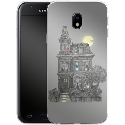 Samsung Galaxy J3 (2017) Silikon Handyhuelle - Haunted By The 80s von Terry Fan