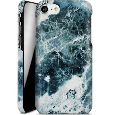 Apple iPhone 8 Smartphone Huelle - Blue Sea Marble von Emanuela Carratoni