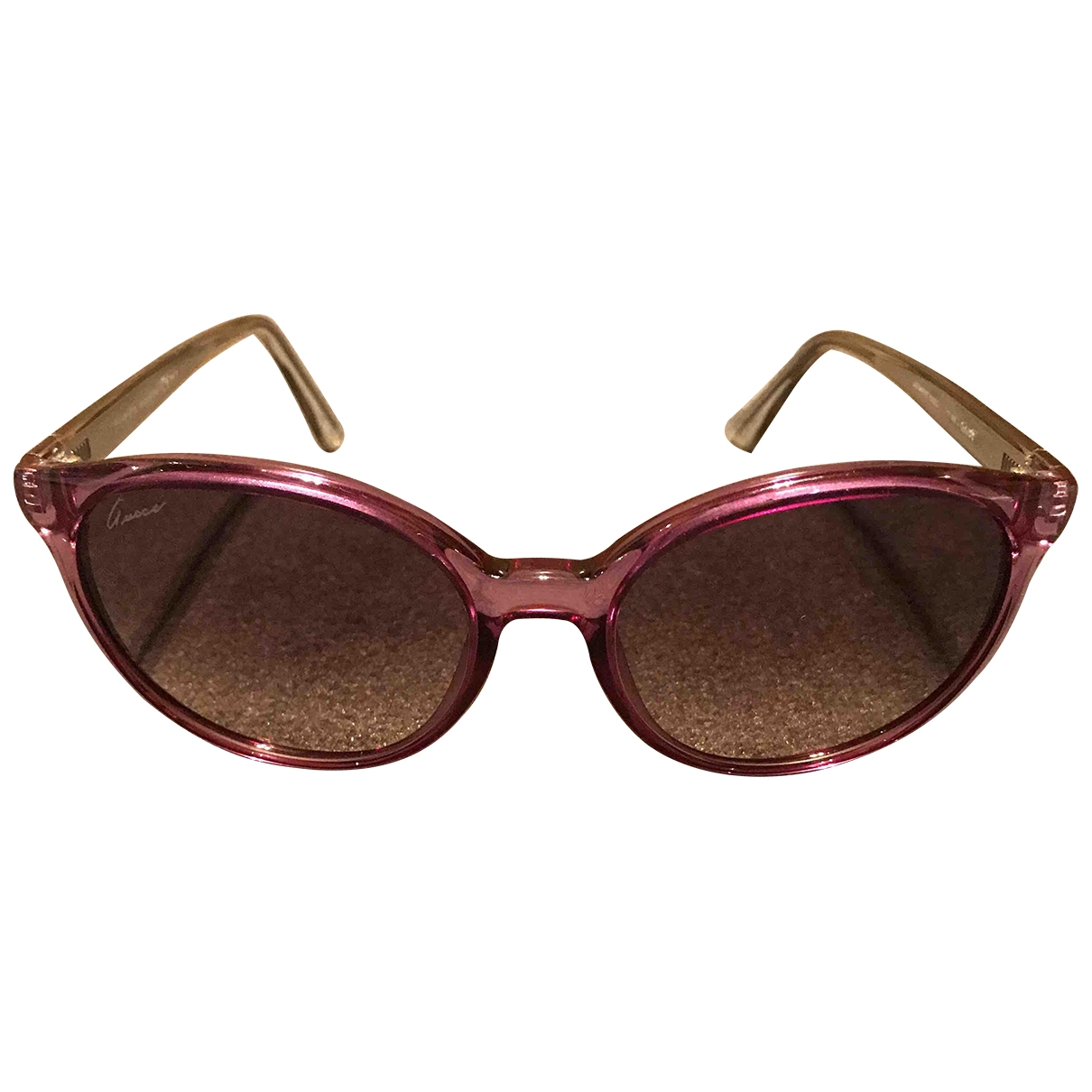 Gucci - Lunettes   pour femme - rose