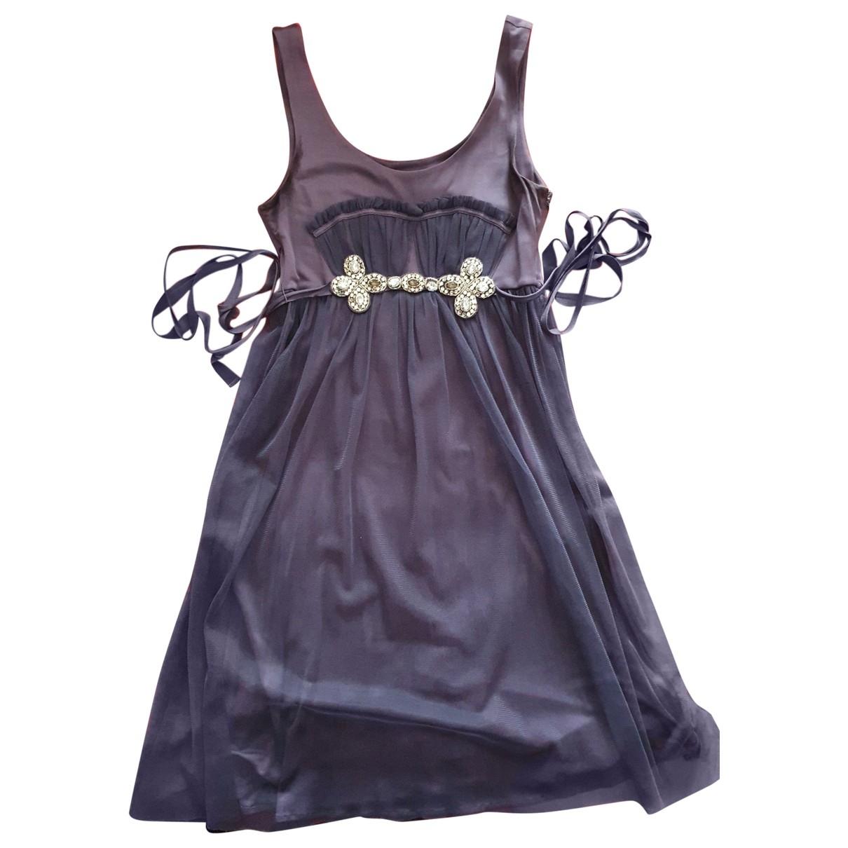 Emporio Armani \N Kleid in  Lila Seide