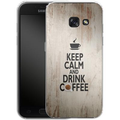 Samsung Galaxy A3 (2017) Silikon Handyhuelle - Drink Coffee von caseable Designs