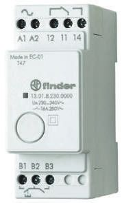 Finder , 12V ac/dc Coil Non-Latching Relay SPDT, 16A Switching Current DIN Rail Single Pole