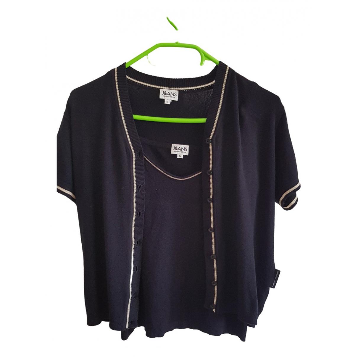 D&g \N Pullover in  Schwarz Viskose