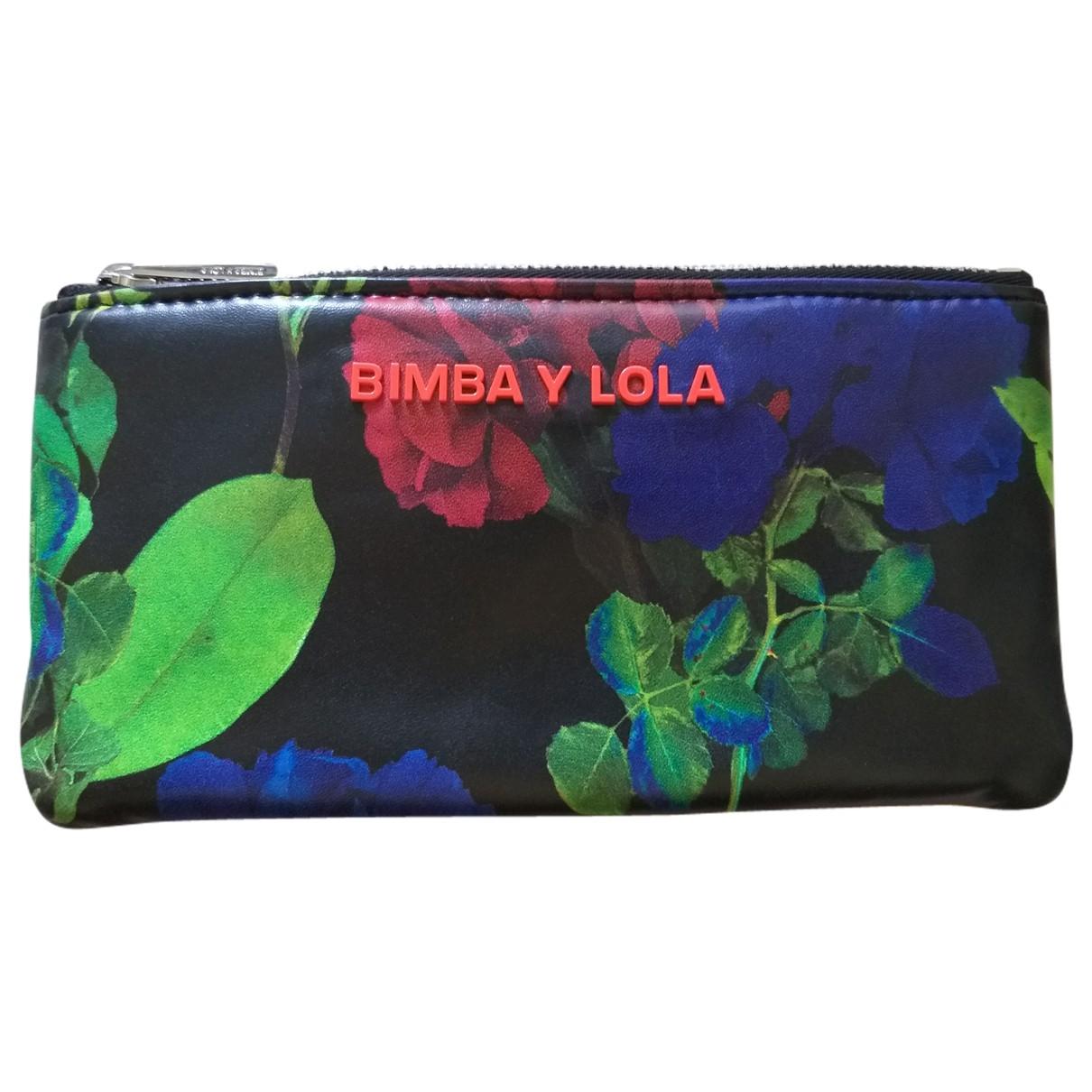 Bimba Y Lola \N Multicolour Leather wallet for Women \N