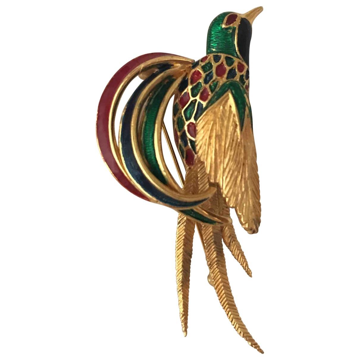 Carven - Broche   pour femme en metal - multicolore