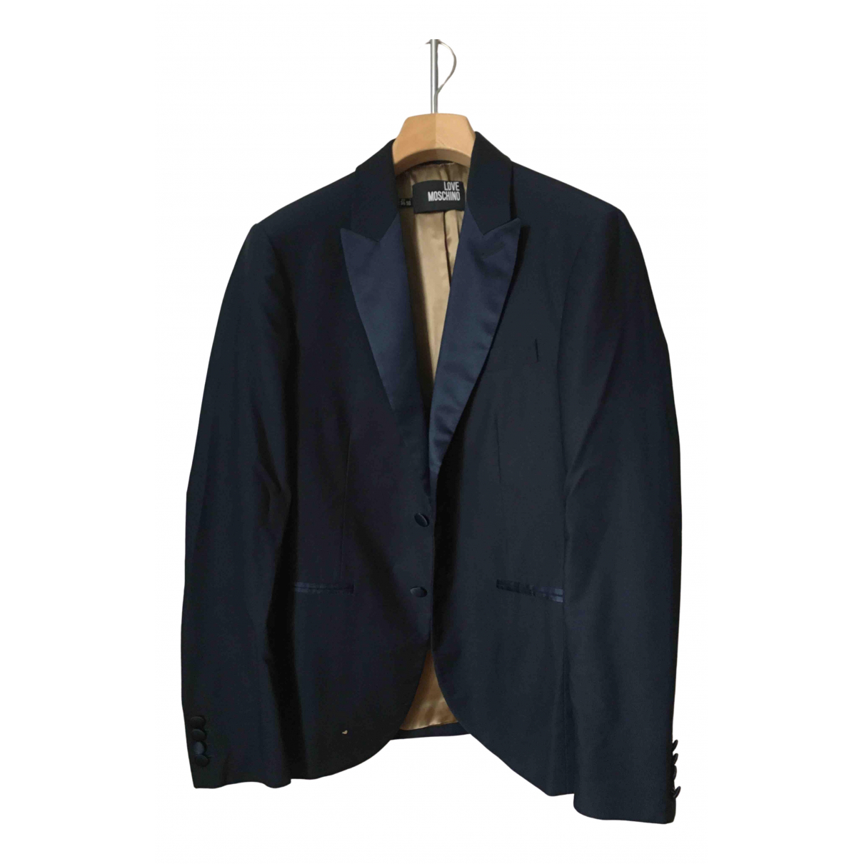 Moschino - Vestes.Blousons   pour homme en coton - bleu