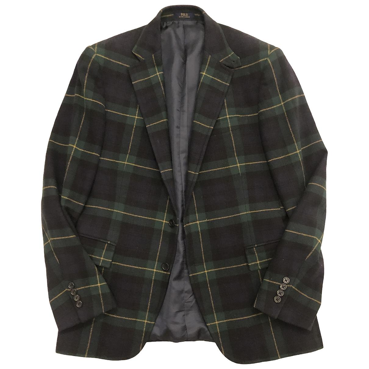Polo Ralph Lauren - Vestes.Blousons   pour homme en laine - bleu