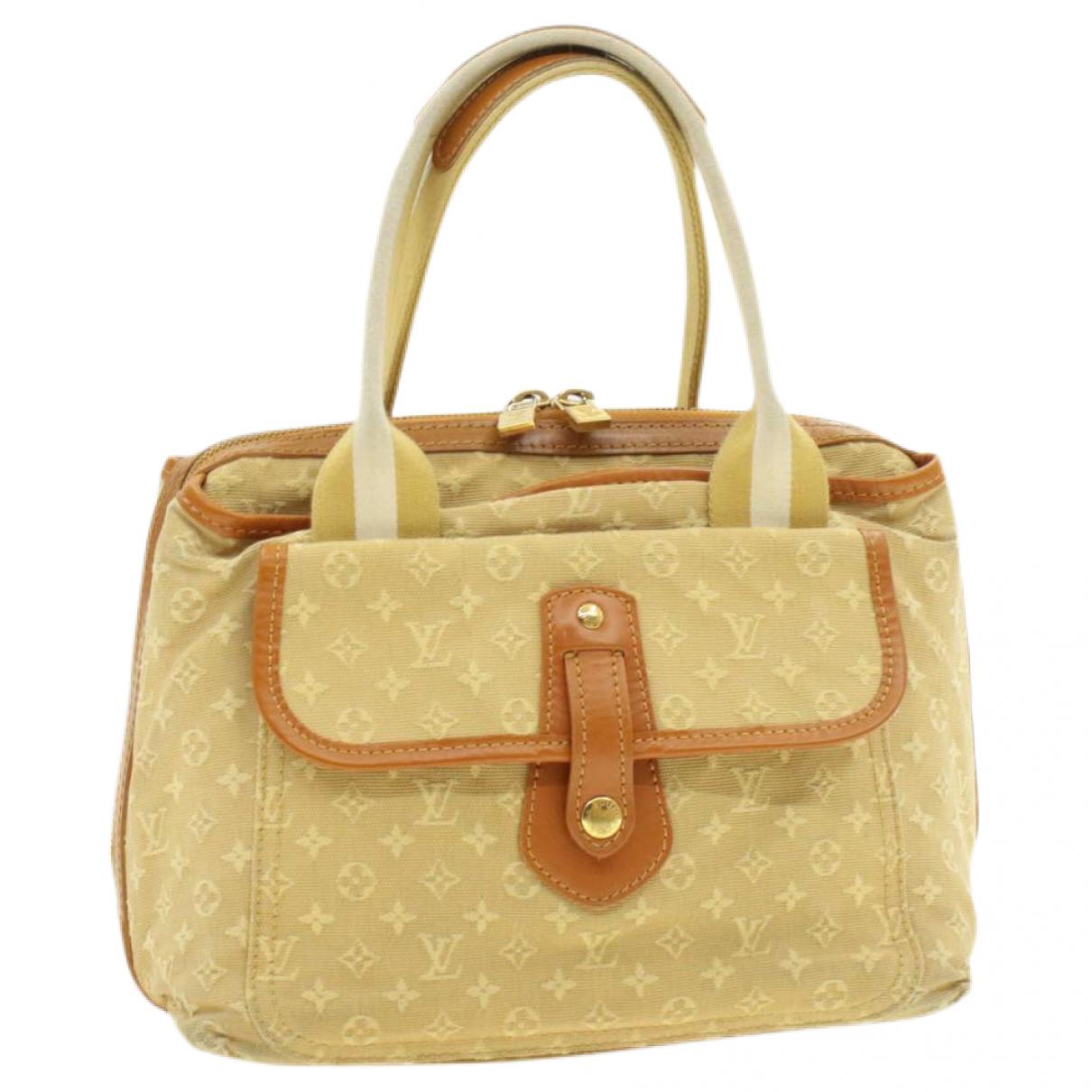 Louis Vuitton Mary Kate Beige Cloth handbag for Women \N