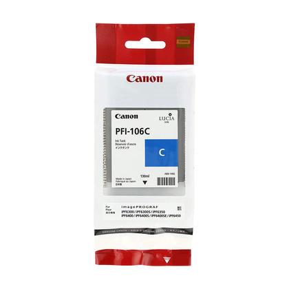Canon PFI-106C 6622B001AA Original Cyan Ink Cartridge