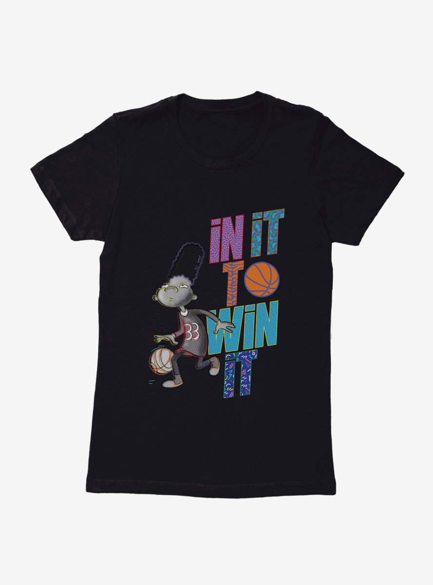 Hey Arnold! Gerald In It To Win It Womens T-Shirt