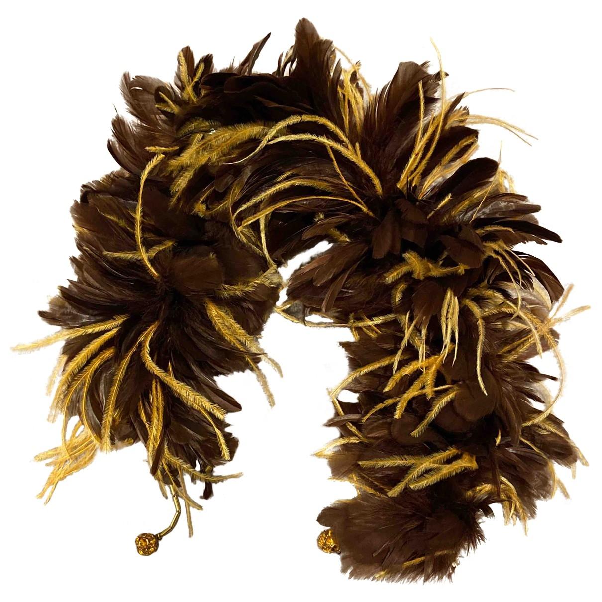 - Foulard   pour femme en autre - marron