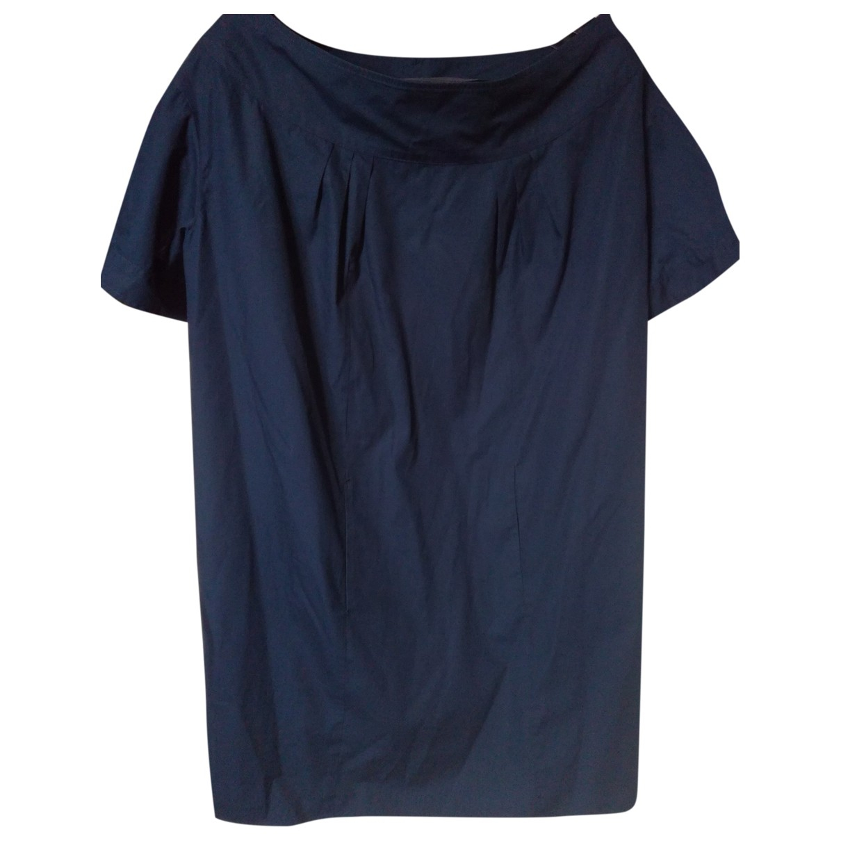 Miu Miu \N Blue Cotton dress for Women 40 IT