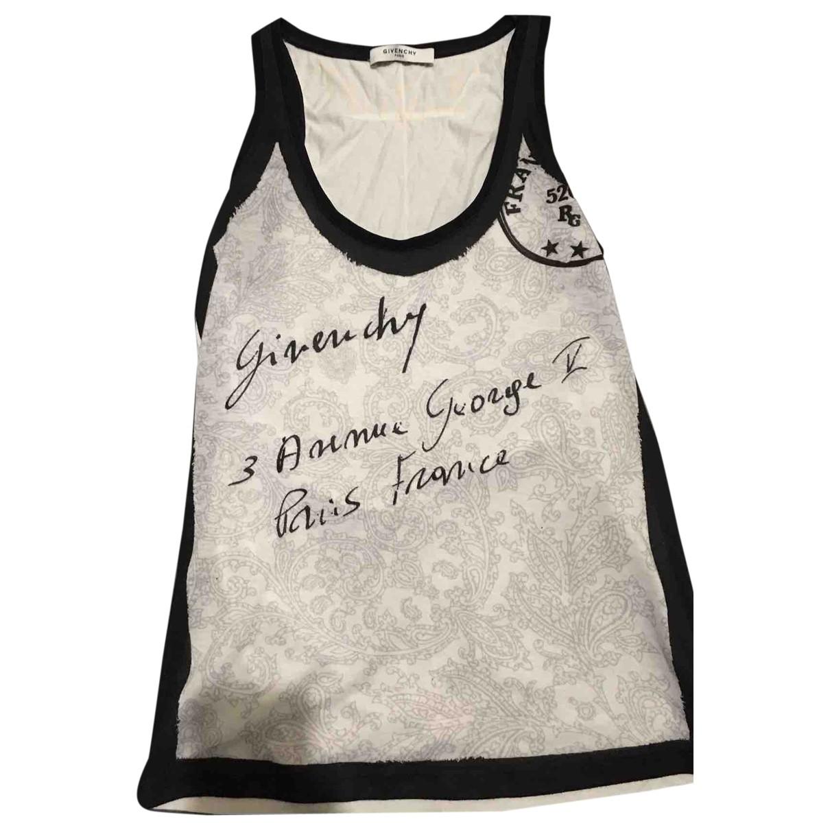 Givenchy - Top   pour femme en coton - blanc
