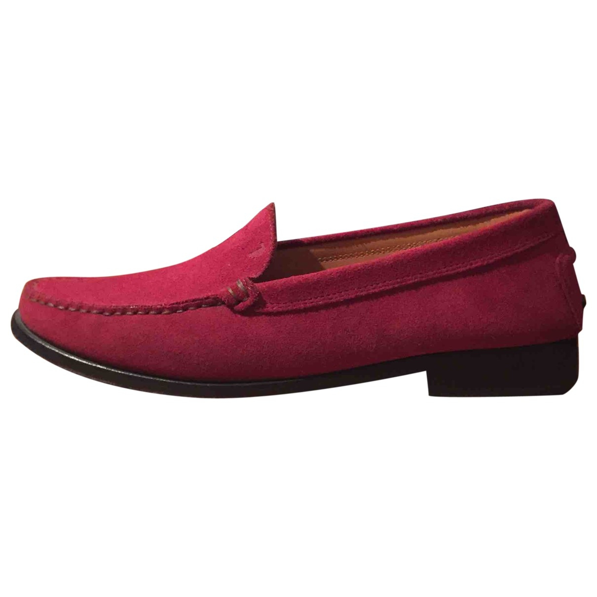 Tod's \N Pink Suede Flats for Women 39 EU