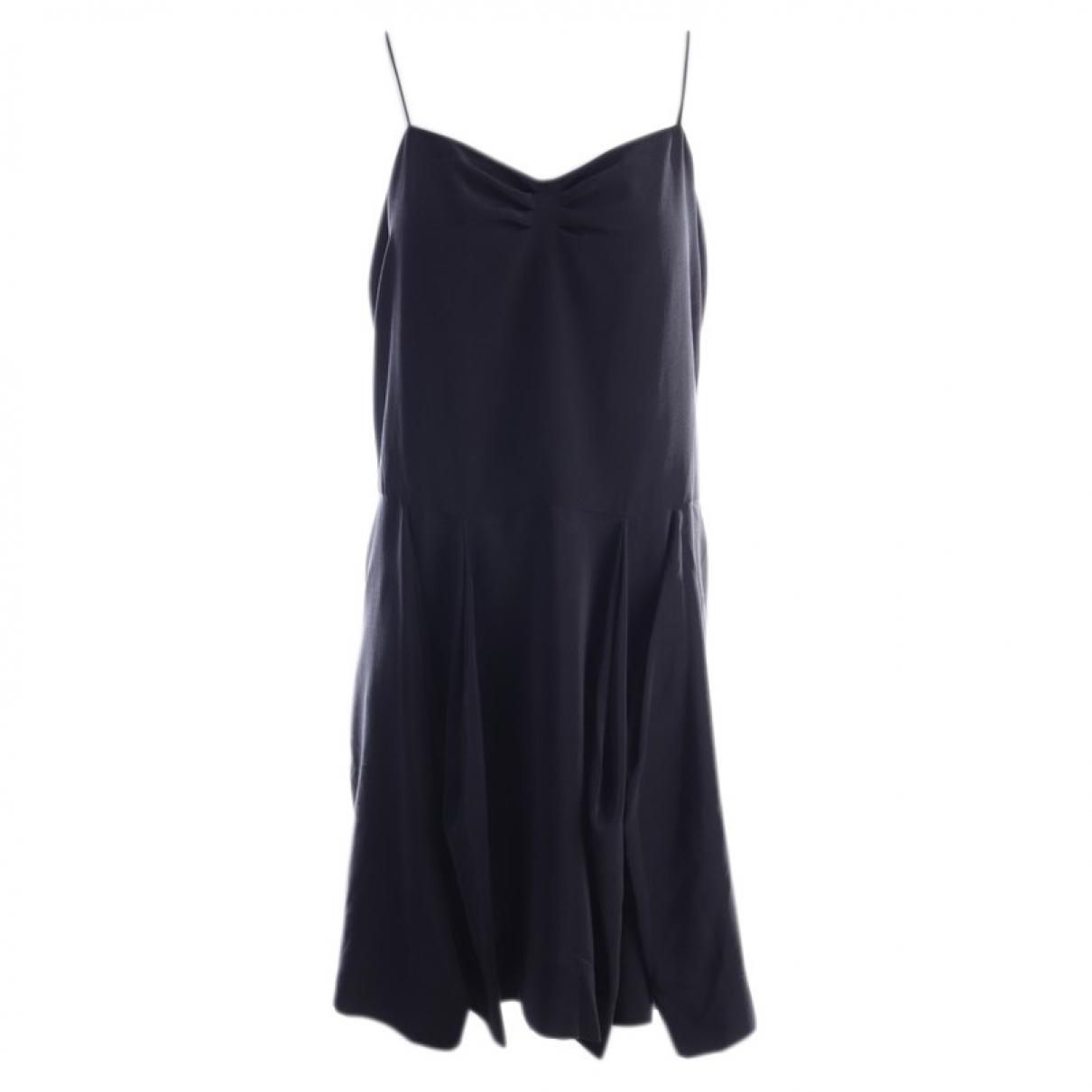 Stella Mccartney N Black Silk dress for Women 36 FR