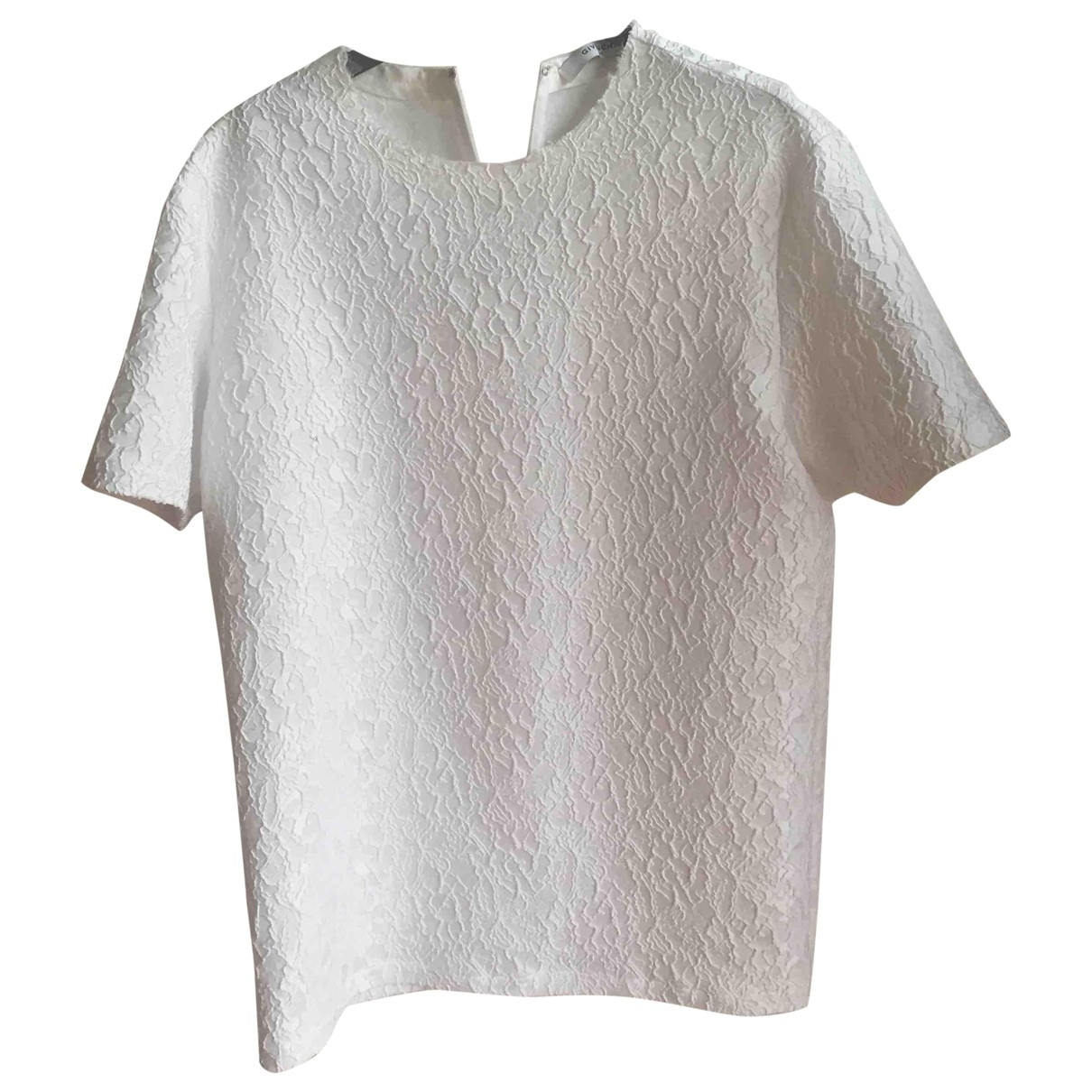 Givenchy \N Top in  Weiss Synthetik